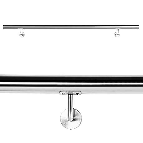 Pasamanos Barandilla Barandas 160cm Escalera Acero Inox V2A