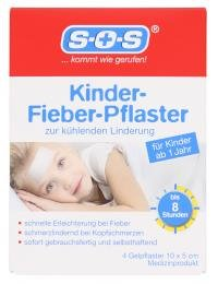 SOS Kinder-Fieber-Pflaster 4 Gelpflaster -