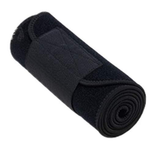 Cintura di Allenamento della Vita, Burning Fat Shaping Small Waist Lining Wicking Materiali di Alta qualità Squisiti Artigianato Elastico Resistente al Vento Caldo e Durevole,Black