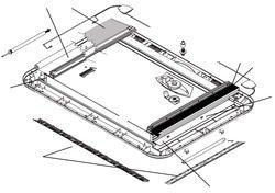 Montageset Heki 2 bis Heki 4 Dachstärke->53 \\- 60 mm