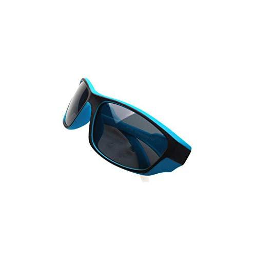 Destinyv ZXCDDP Kinder Sonnenbrille Sport Outdoor Sport Freizeit Reisen Winddicht Anti-UV blau Kind Polarisierende Sonnenbrillen