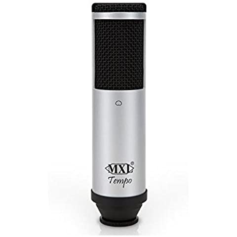 Microfono a condensatore MXL tempo SK argento/nero   USB   nuovo