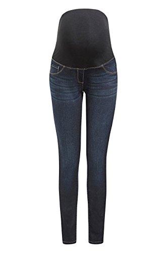 next Donna Comodissimi Jeans Vestibilità Skinny Premaman Blu Scuro EU 46 Regular