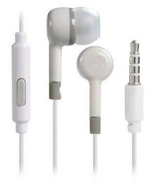Redmi Mi Compatible Earphones With Premium Sound Quality and supriour bass quality for all Xioami Redmi mobiles/phones and Other 3.5 MM Devices (white) Jolla Jolla C