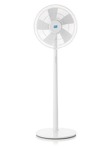 Ventilador de pie silencioso con 55W y Remote controle. De Universal blue