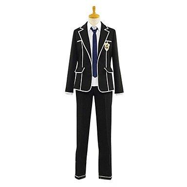 Guilty Crown tennouzu High School Jungen Schuluniform cosplay kostum,Maßgeschneiderte(Mailen Sie uns Ihre Größe),Größe XXL: Höhe 180cm-185cm (High School Junge Kostüm)
