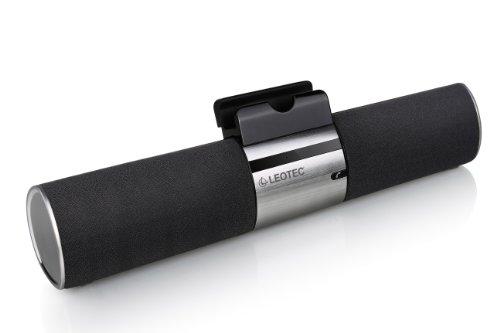 Leotec LEBTSPK01 - Altavoz Bluetooth con soporte y Line in para tablet/smartphone
