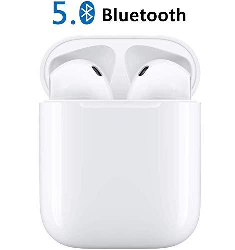 Auricolari Bluetooth 5.0, Cuffie Bluetooth Senza Fili Auricolari Wireless Sportivi in Ear con...