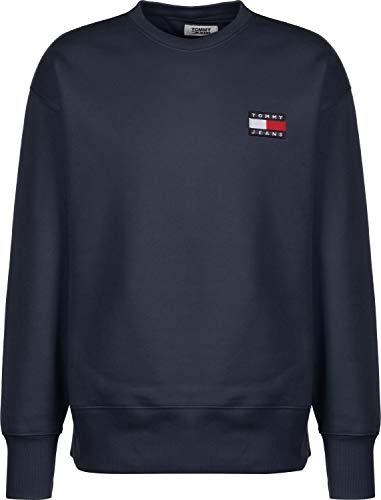 Tommy Jeans Herren Sweatshirt Marine (52) M (14 Herren Klassische Jeans)
