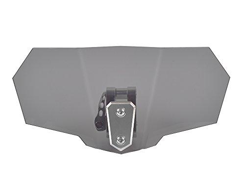 Tencasi Universal parte superior delantera ajustable deflector de flujo de aire...