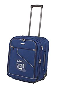 "Easyjet & RYANAIR 18"" & 21"" Cabin hand Luggage Trolley Case Suitcase Wheeled Luggage (17"" EASYJET, PURPLE)"