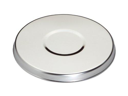 Chg 8049-01 - Calientaplatos (acero inoxidable mate, 20 cm x 1,6 cm)