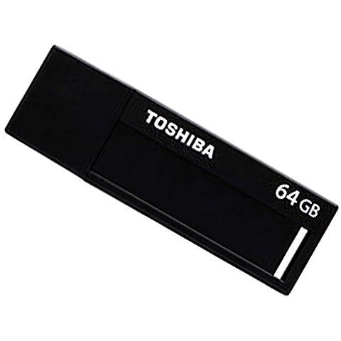 Pendrive 64GB Toshiba 3.0 Negro Daichi