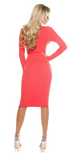 In-Stylefashion - Robe - Femme rouge rouge clair taille unique rouge clair