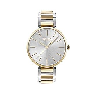 Hugo BOSS Reloj Análogo clásico para Mujer de Cuarzo con Correa en Acero Inoxidable 1502417