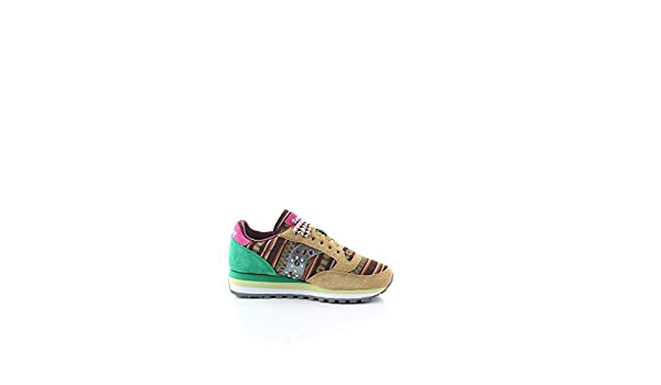 Saucony Moda Donna 6049703 Beige Suede Sneakers | Stagione