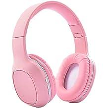 Qoosea Auriculares Diadema Casco Bluetooth Inalámbrico con Micrófono Casco Plegable Headphone Bluetooth para Apple iPhone XS