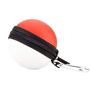 Pokémon Poke Ball Plus Controller Tasche – EVA Wasserdichte Hülle / Case / Tragetasche / Aufbewahrungsbeutel für Pokemon Poké Ball Plus Let's Go Pikachu Eevee Konsole Zubehör