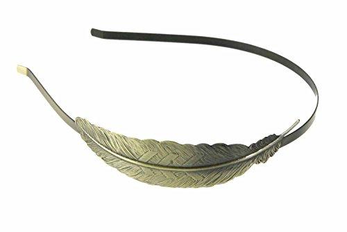 Haarreifen Blatt Haarreif Romantik Miniblings Haarschmuck Blätter Bronze Blatt