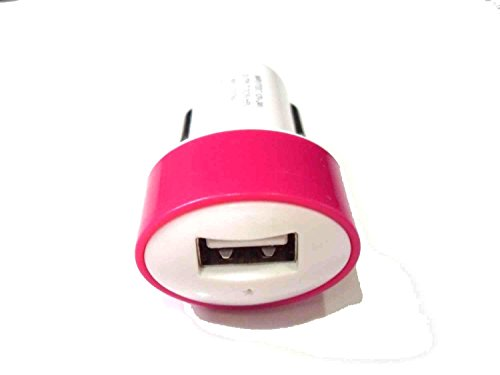 Deet ® rose haute Performance pour voiture G-MOBiLiTY Port USB Compatible avec iPhone 6 Plus Samsung/6S Note S6 S6 bord, et