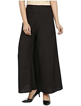 Indian Handicrfats Export Sizzlacious Regular Fit Women's Black Trousers