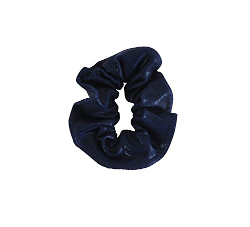 obersee-kids-hair-tie-scrunchie-navy-blue-one-size