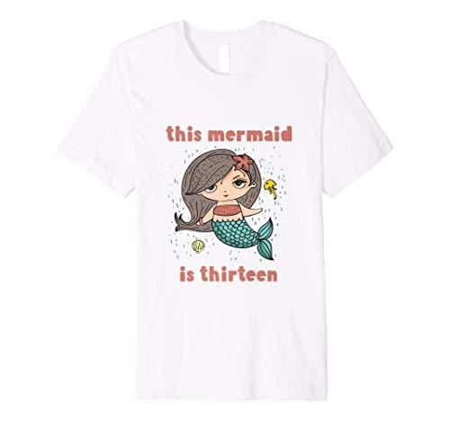 13th Birthday Mermaid Shirt 2005 Gift 13 Years Tee Daughter