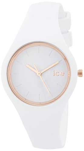 b138d6b922d13 Details about Ice-Watch - ICE glam White Rose-Gold - Womens wristwatch with silicon  strap - 0