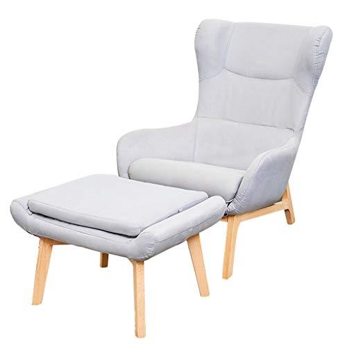 Modernes Sofa Balkon Lounge Freizeit Stuhl Couch Stuhl Lazy Sofa Gaming Stuhl für Home Office Recliner Couch Kindersessel Sleeper Freizeit Recliner mit abnehmbarem Sitzbezug für Wohnzimmer - Sofa Couch Sleeper