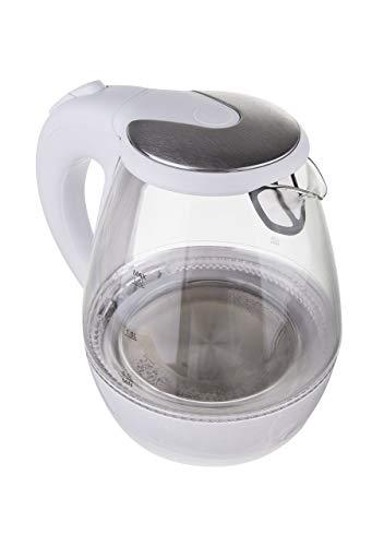 Mesko MS1245 MS 1245 Wasserkocher Glas 1.5 liters, Weiß