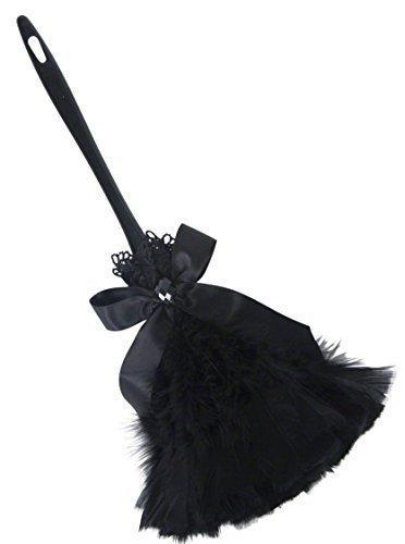 Fever Damen French Maid, Gothic-Staubwedel Sexy Halloween Rocky Horror Kostüm-Zubehör
