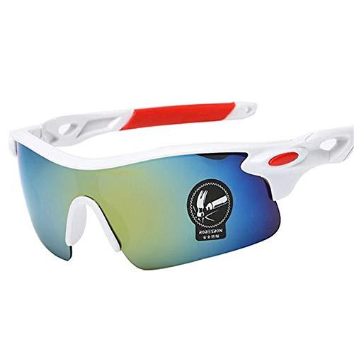 Der Geschmack von zu Hause Blenden Sie Farbe explosionssichere Membran reflektierende Sonnenbrille Männer und Frauen im Freien Radfahren Sport Spiegel Brille Sonnenbrille