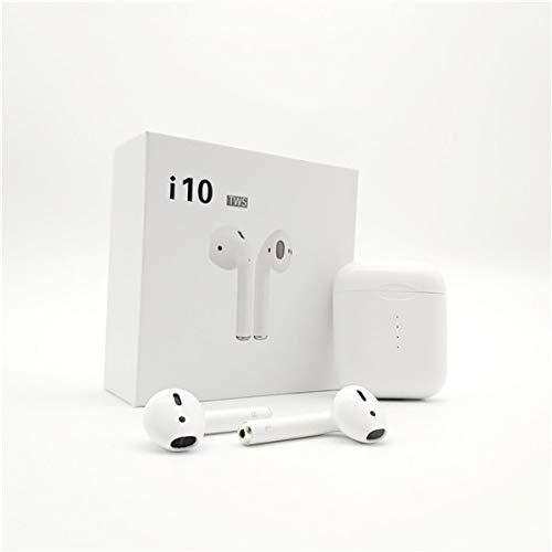 I10 TWS Auriculares Inalámbricos Bluetooth 5 0 Auriculares Control Táctil  De Carga Inalámbrica De Alta Fidelidad Música 3D Auriculares De Sonido