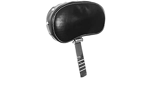 Leather Black Studded Driver Rider Backrest for Indian Motorcycles Like Challenger Chieftain Elite Limited Chief Vintage Classic Springfield Dark Horse Years 2014-2020 Back Rest Pad ref 2879542-02