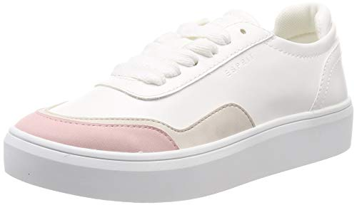 ESPRIT Damen Elda Toe LU Sneaker, Pink (Pink 670), 38 EU