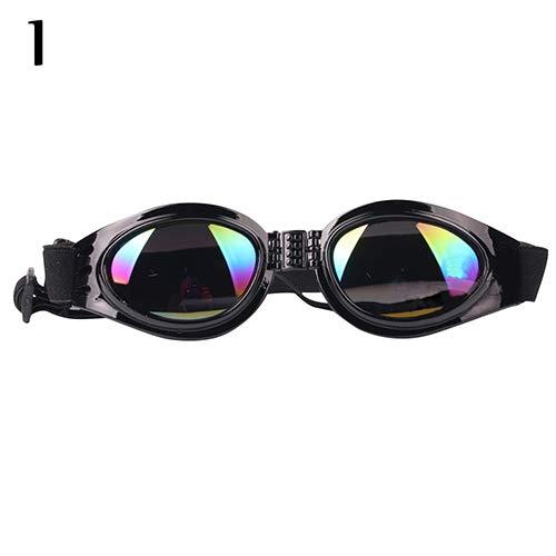 ghfashion Fashion Verstellbare Sonnenbrille, UV-Schutz, faltbar, für Hunde, 1 Stück
