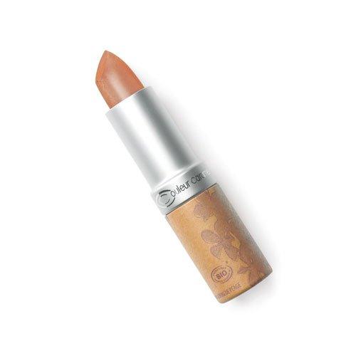 Couleur caramel Lippenstift nº210 Braune Farbe der perlmutterartige rosé Bio