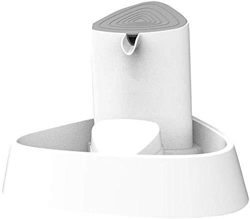 L.TSA Abreuvoir Intelligent pour Eau Pet, Distributeur d'eau muette à Circulation Automatique de 1,5 L, Fontaine d'eau Potable à débit de Lampe réglable à Quatre Lampes