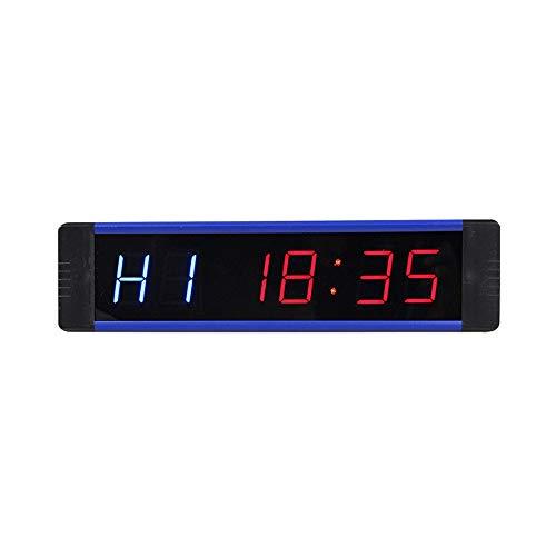 Reloj Digital de Pared Led Intervalo Temporizador Entrenamiento ...