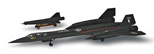 Revell 15810 SR-71A Blackbird detailgetreuer Modellbausatz, Flugzeugbausatz 1:72