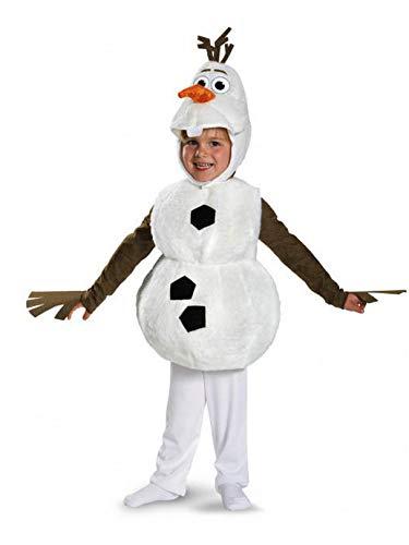 (Frozen Disney Deluxe Olaf Child Toddler Costume 4-6)