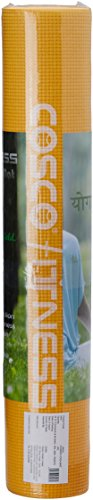 Cosco Power Yoga Mat, 5mm (Yellow)  available at amazon for Rs.610