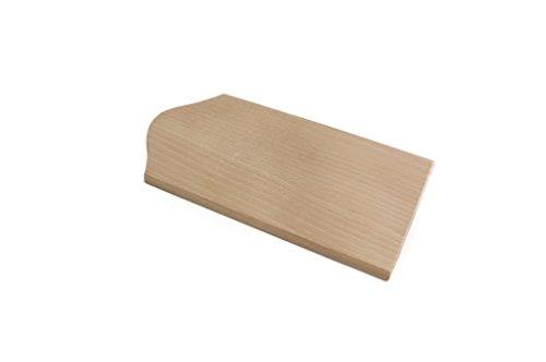 Calder tagliere per pizza al metro in multistrato di faggio cm. 70x40x1,2