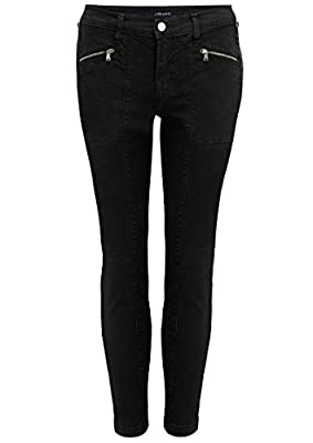 J Brand - Genesis Mid Rise Utility Jeans - Direct Black