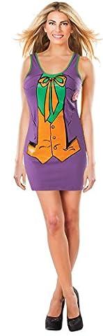 Robe Costume Joker DC Comics femme