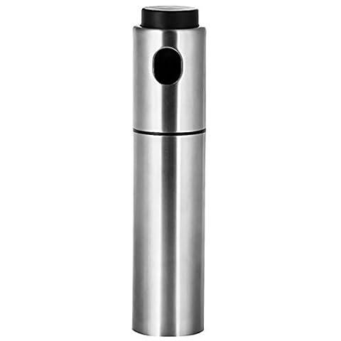 MagiDeal Edelstahl Öl Spray Pumpe, Olive Essig Spray Flasche, Küche Zubehör Kochen Werkzeug