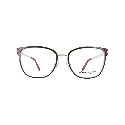 Salvatore ferragamo occhiali da vista sf 2150 brown light gold donna