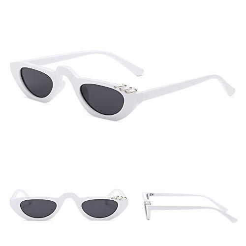 Makefortune Unisex Katzenauge Sonnenbrille Retro Partybrillen Klassische Cateye Kleine Oval Retro...