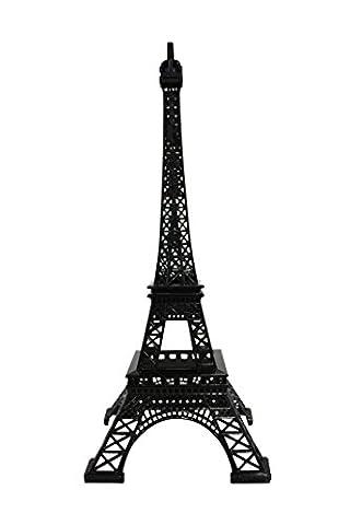 Tour Eiffel/Eiffel Tower en métal 38cm-Souvenir de Paris