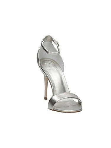 Guess Damen Footwear Dress Sandal Riemchen Pumps Platin